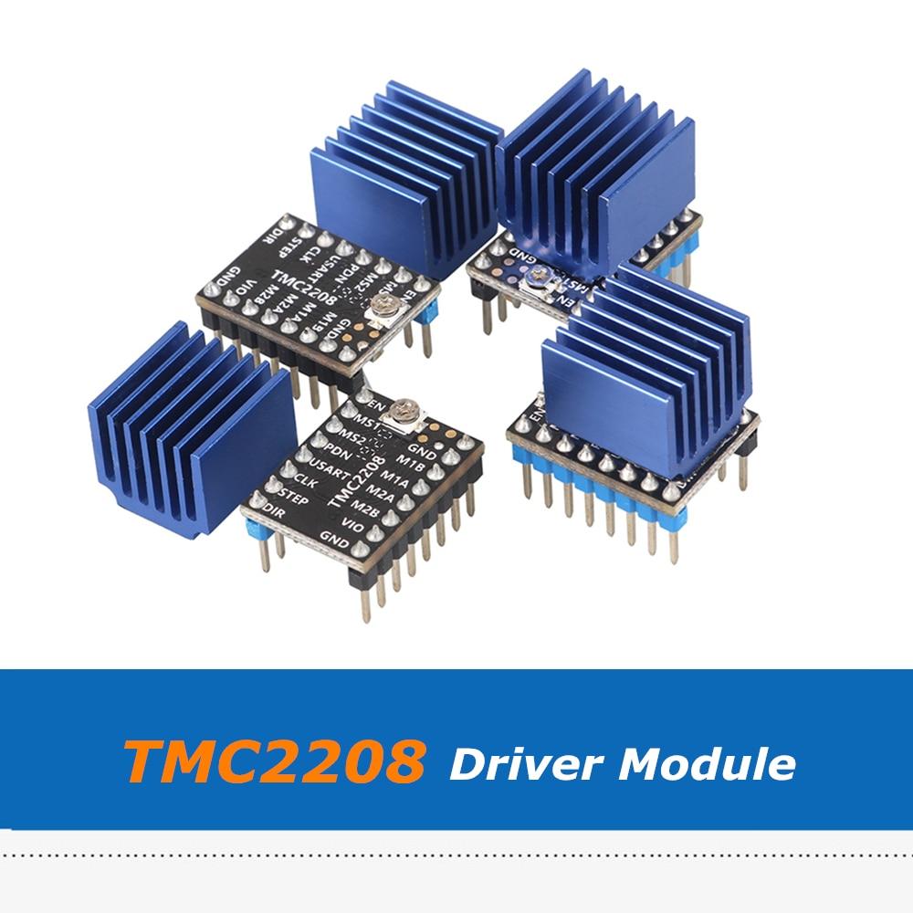 4pcs/lot Lerdge TMC2208 Stepper Motor Driver Stepstick Ultra-quiet Less Heat Replace TMC2100 For Lerdge K X Board