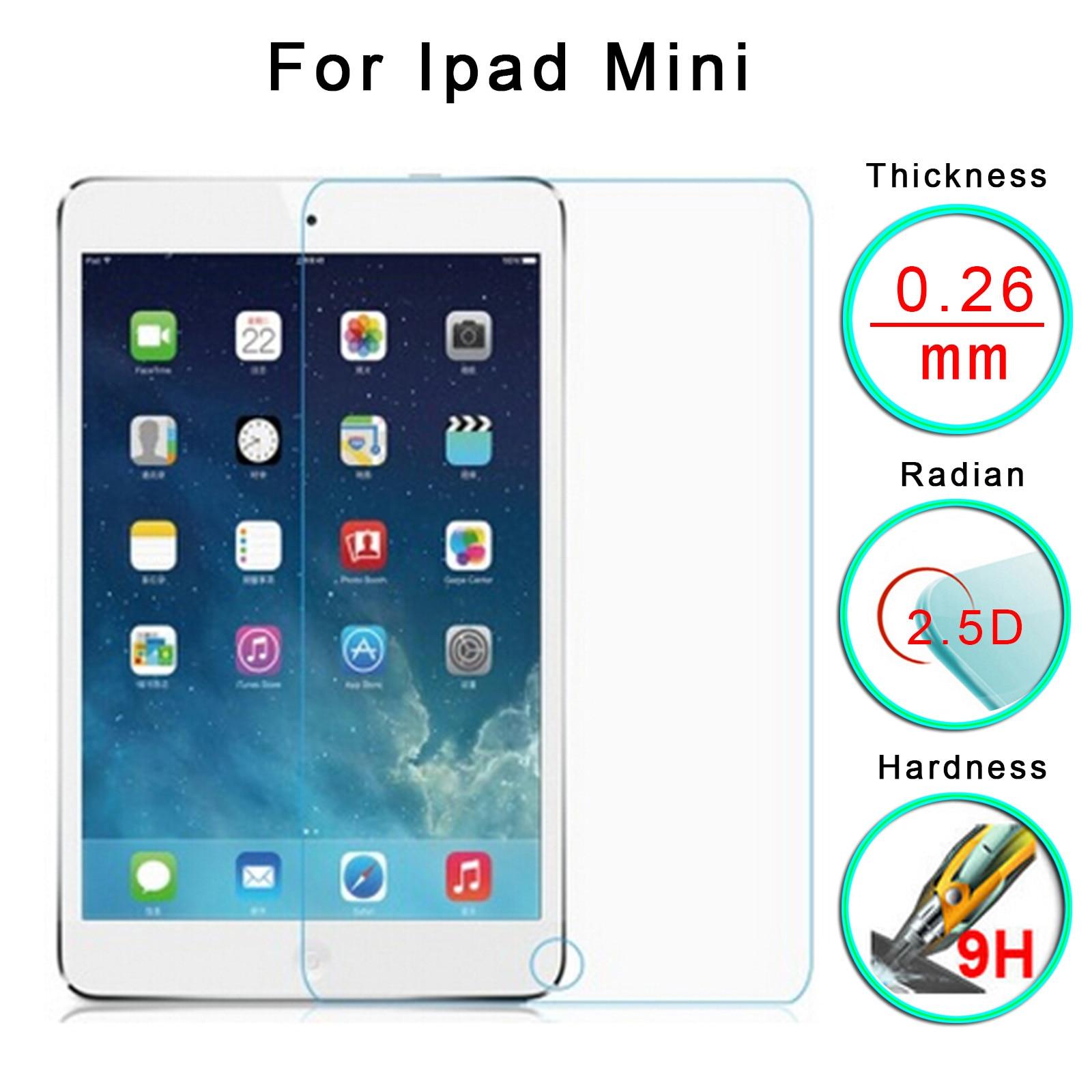 2Pcs Gehärtetem Glas für Apple IPad 9,7 Zoll Pro 10,5 11 Glas für IPad Air 2 Mini 1 2 3 4 Screen Protector Schutz Film 2018