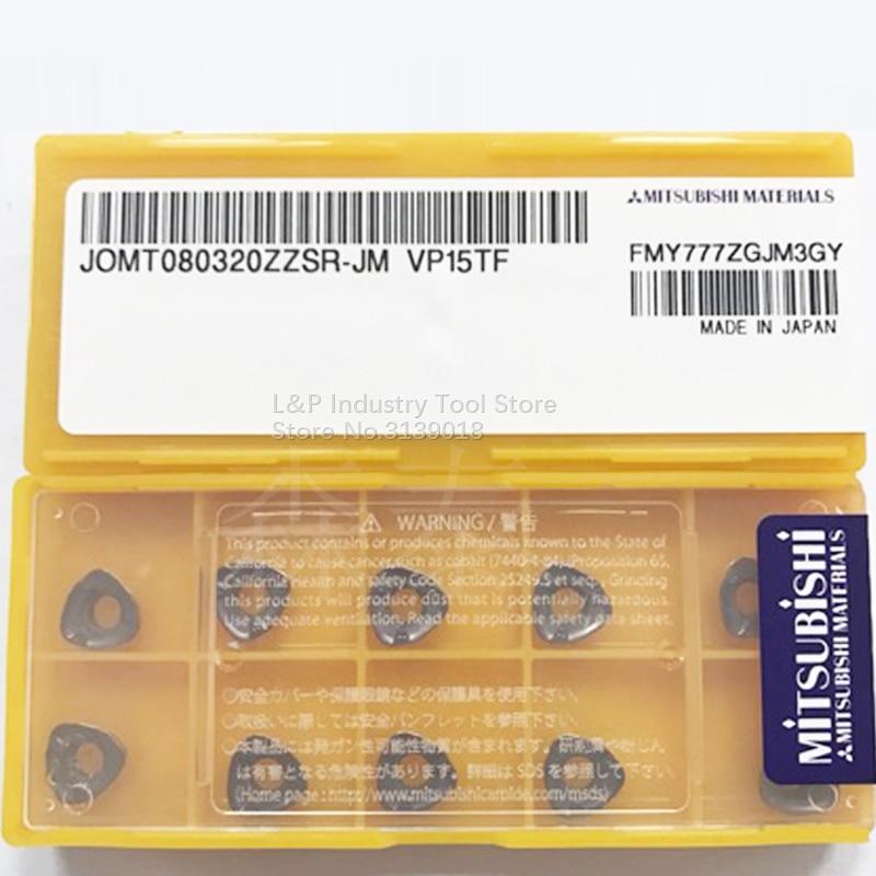 جديد حقيقي اليابان العلامة التجارية نوعية جيدة JOMT080320ZZSR-JM VP15TF كربيد إدراج JOMT 080320 ZZSR-JM VP15TF تحول أداة