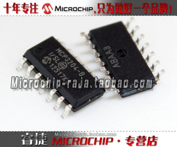 Original novo autêntica   MCP3204-BI/SL SOP14 ADC originais genuínos grandes vantagens de preço 100% original Novo autêntica