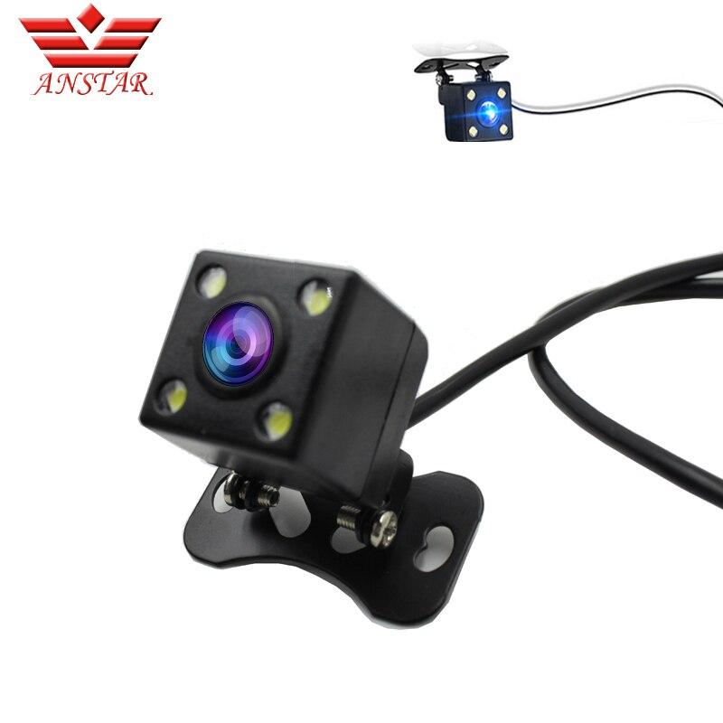 ANSTAR Mini Araba Dikiz Aynası Kamera ile Navigasyon Işıkları Geri Kamera Park Kamera ile Ters Dikiz Kamera