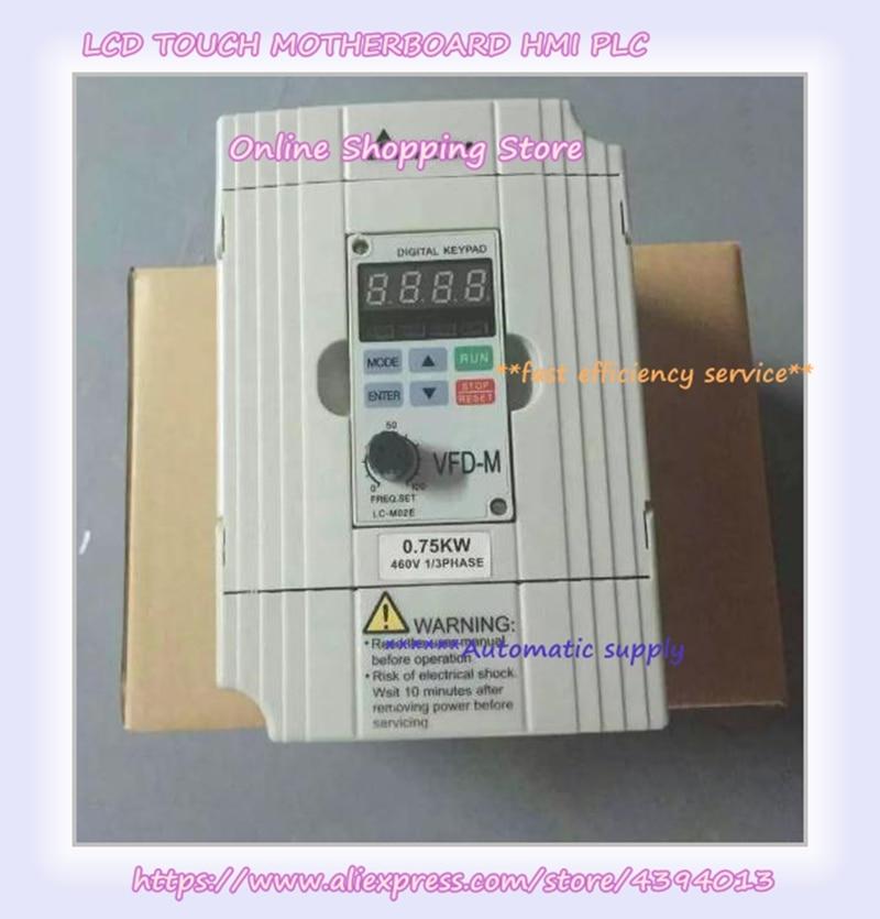 VFD007M43B 0.75KW 750W 380V VFD محول تردد جديد