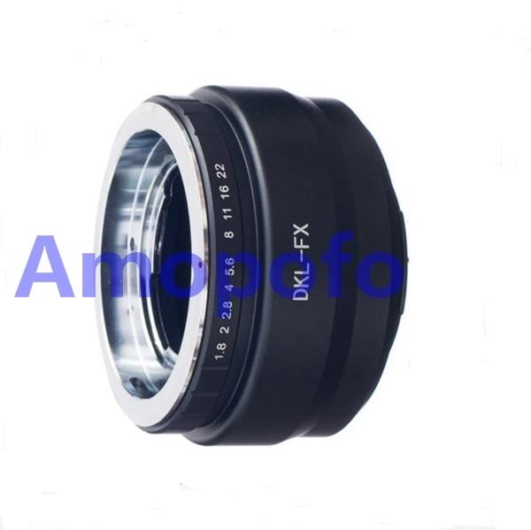 Amopofo DKL-FX адаптер, Voigtlander Retina DKL объектив для Fujifilm FX X-Pro1 X-E2 адаптер