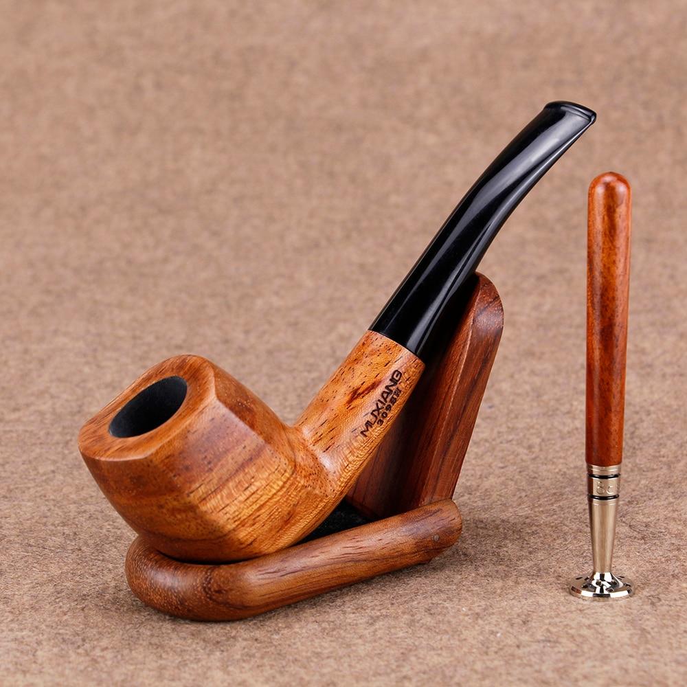 Новый набор курительных труб из палисандра, бейсбольный дизайн летучей мыши, прижимное устройство для табачных труб 9 мм, фильтр ручной рабо...