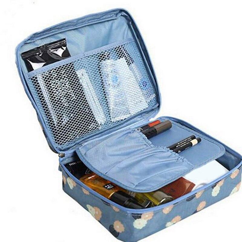 Zipper Makeup Bag High Quality Cosmetic Bag Women Waterproof Travel Make Up Bag Organizer For Toilet