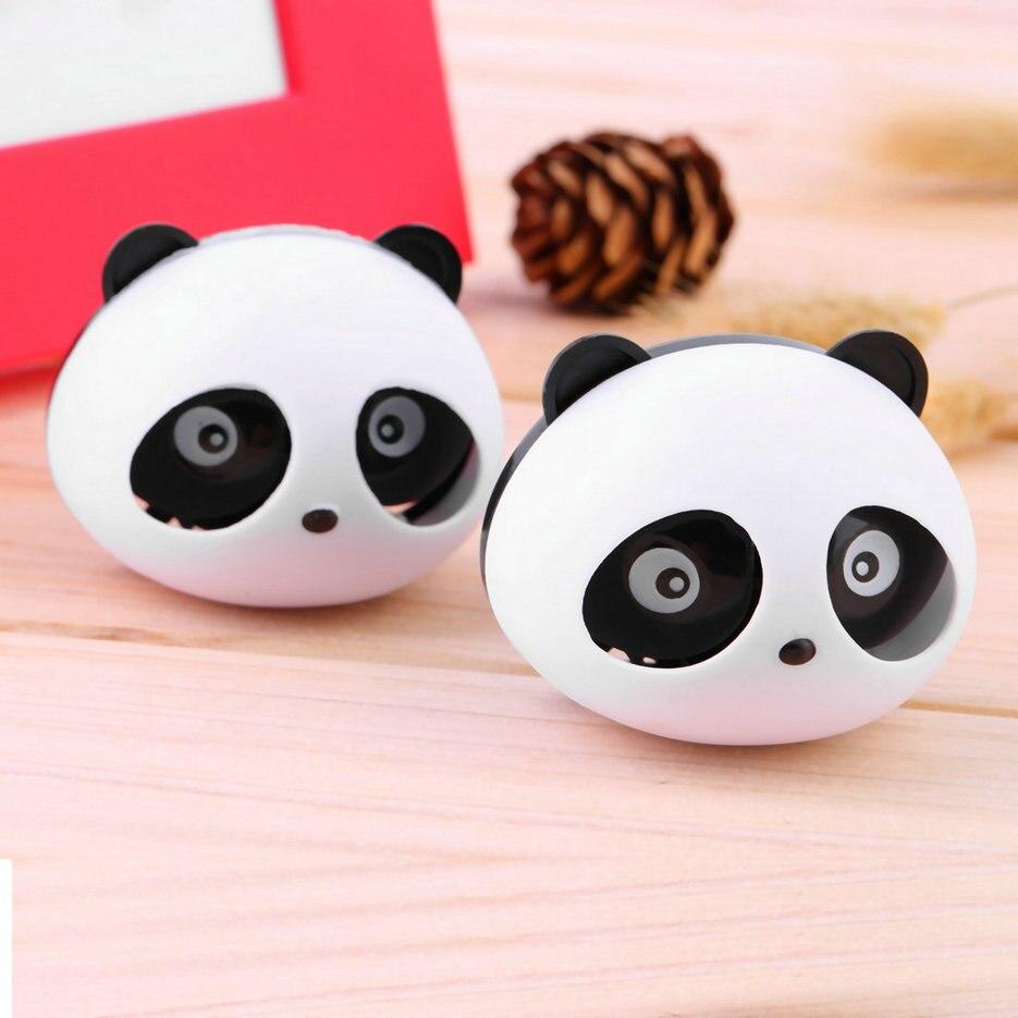 Envío Gratis 2x ambientador de coche lindo Panda Perfume para Auto Aire acondicionado Ventilación decoración de coche
