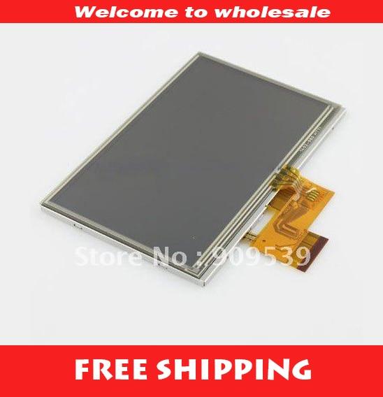 Módulo TFT LCD de 5 pulgadas para panel de pantalla LCD GARMIN Nulink 1695 con reemplazo del digitalizador de pantalla táctil