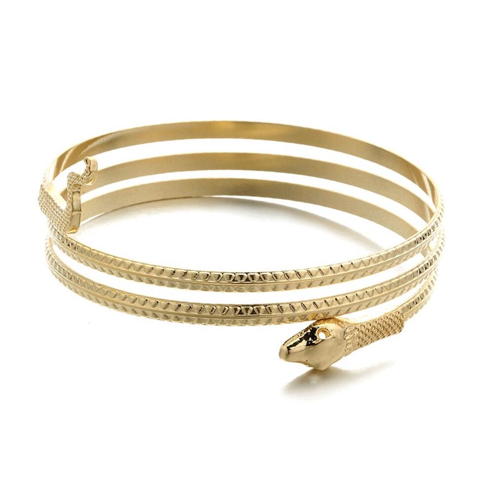 PIXNOR облегающий скользящий браслет-змея, регулируемый браслет на запястье, браслеты на запястье, модные ювелирные изделия для мужчин и женщи...