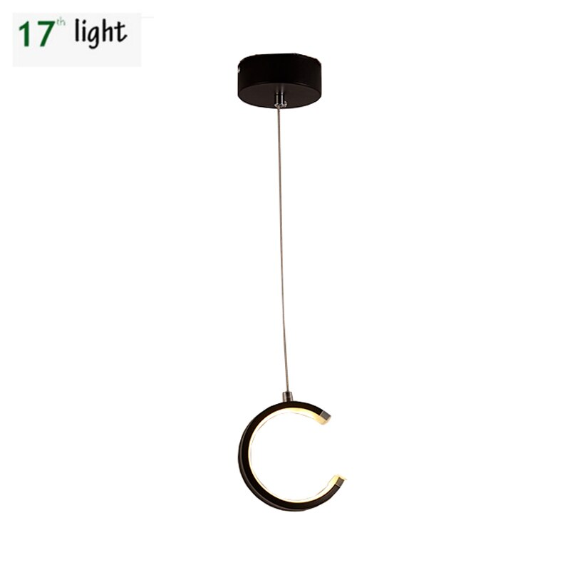 LED acrílico Luna colgante lámpara para sala de estar dormitorio de estilo moderno AC85-25V envío gratis