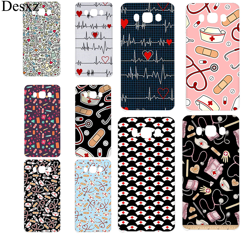 Cell Phone Case Nurse Medical Medicine Health Heart For Samsung Galaxy J1 J2 J3 J5 J7 J6 Prime Hard Cover