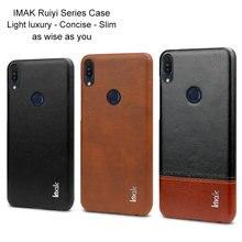 Imak Luxe Ruiyi étui asus Zenfone Max Pro M1 Cas ZB601KL ZB602KL Étui Mince coque arrière coque entreprise couvre