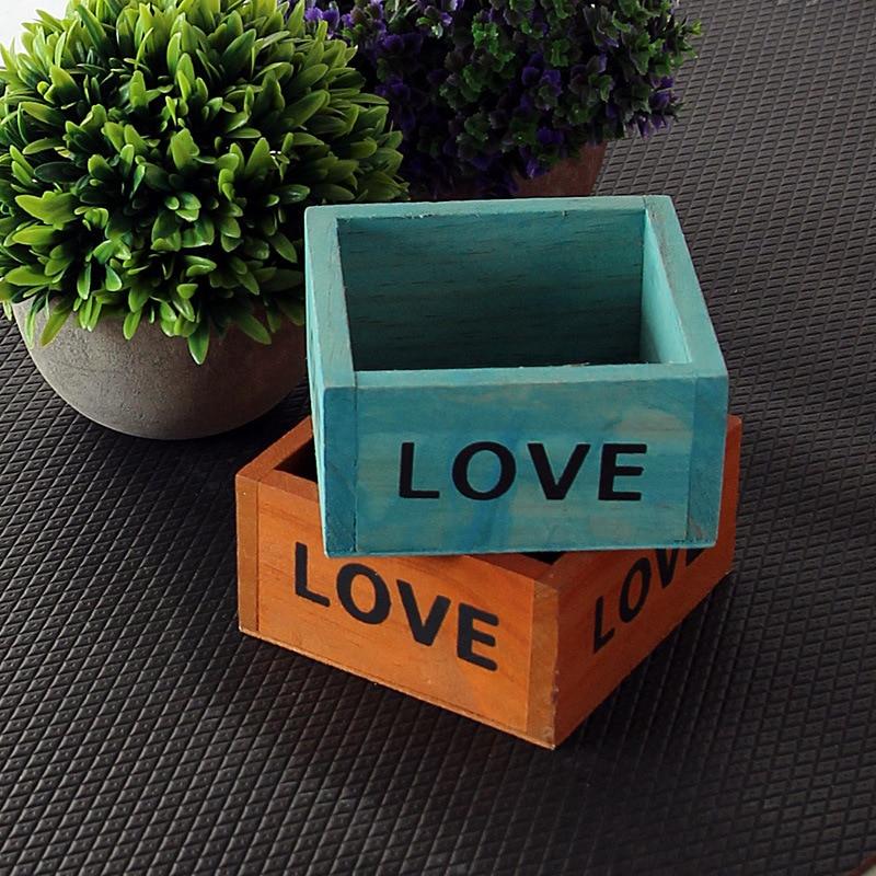 Мини старинный деревянный стол, контейнер для мелочей, косметики, коробка для хранения ювелирных изделий, деревянный держатель для ювелирн...