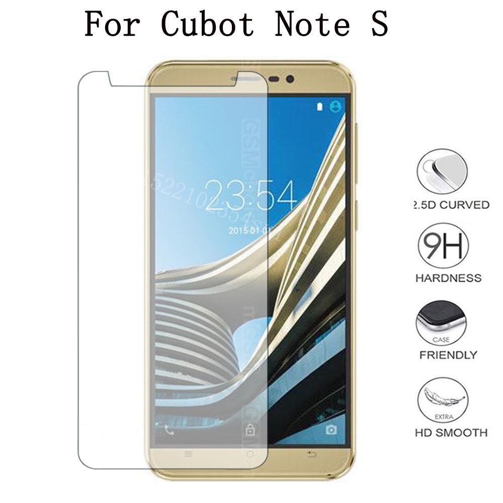 Vidrio templado para Smartphone Cubot Note S película protectora a prueba de explosiones funda protectora de pantalla Teléfono para Note S