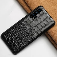 genuine leather phone case for honor 20 20pro 8x v20 luxury back cover for huawei p20 p30 pro lite mate 20 pro lite p smart 2019