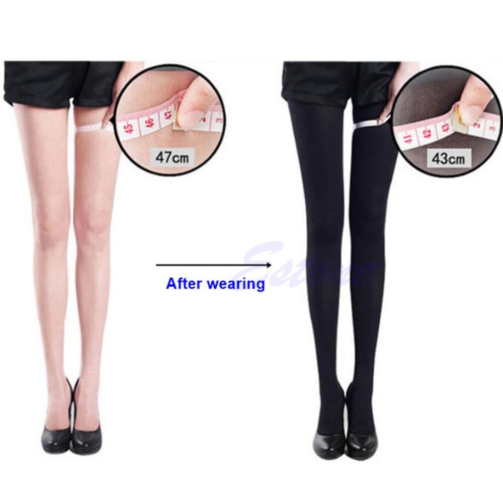 Femmes mince beauté jambe forme Compression brûler graisse mince sockspantypipe Stock ing