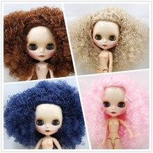 ICY DBS Blyth Doll 와일드 컬 업 4 색 선택 핑크 & 샴페인 & 블루 & 브라운