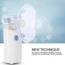 Massagem Massage Entspannung Tragbare Vernebler Kompressor Maschine System Kit Inhalator Spray Dampfer Therapie Massager