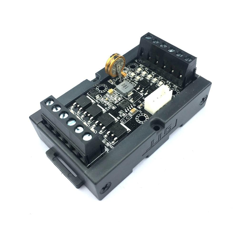 PLC التحكم الصناعي مجلس برمجة تحكم FX1N-10MT تأخير وحدة plc برمجة المنطق تحكم