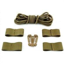 EMES Airsoft Tactical helmet Outdoor Military FAST Helmet DIY deck Set (Tan)