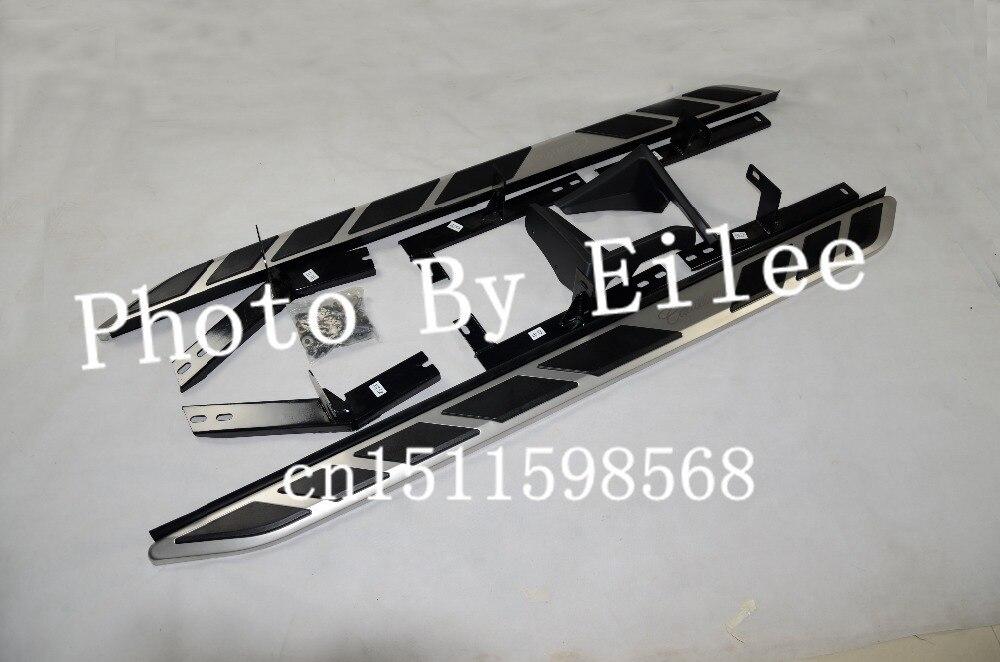 Ajuste de aluminio de alta calidad OEM para Cadillac SRX 2010 2011 2012 2013 2014 2015 estribo lateral Nerf bar