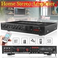 Amplificateur stereo bluetooth HiFi a 5 canaux  karaoke numerique  chauffage  cinema a domicile