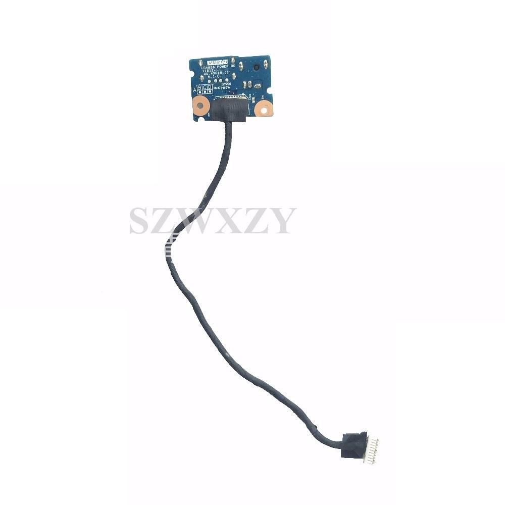 Original para Lenovo G480 G485 G580 Power Jack Tarjeta de puerto USB con Cable 48.4SG19.011 probado completamente envío gratis