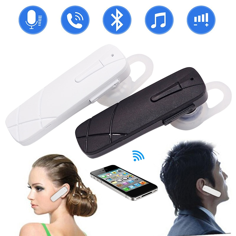 Auricular Bluetooth, auriculares inalámbricos, miniauriculares manos libres, auricular Bluetooth con micrófono para iphone X XR XS, auriculares para teléfono