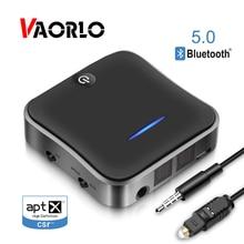 Bluetooth Transmitter Receiver 5.0 Wireless Adapter CSR8675 Aptx HD Adapter Optical Toslink/3.5mm AUX/SPDIF For Car TV Speaker