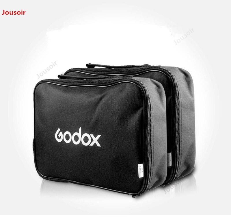 Caja de luz flexible tipo S Godox, bolsa de almacenamiento, kit de lámpara con soporte de lámpara LED flash, accesorios de equipo fotográfico CD50 T07