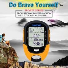 FR510 GPS altimètre voiture Altitude boussole pêche baromètre jauge de température étanche multi-fonction hygromètre Date
