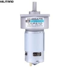 60GA775 DC12V 35W  DC Geared Motor Large Torque Adjustable Speed Micro DC Motor 200 RPM 300 RPM