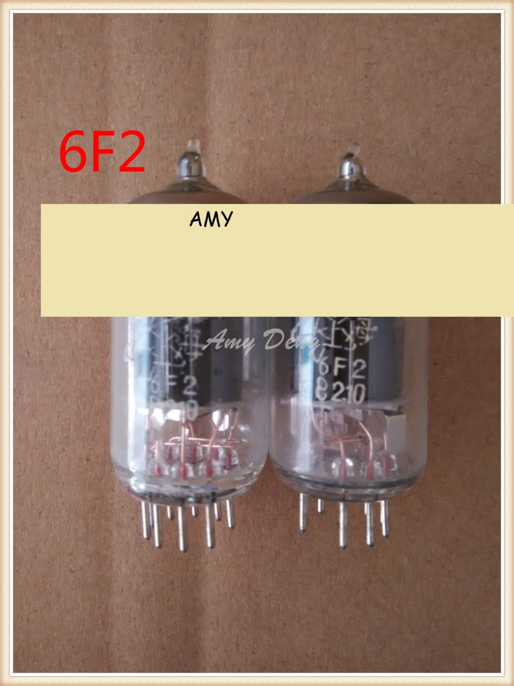 Коробки с той же партией трубок Shanghai 6F2, класс J, 6F2, 6U8A, ECF802