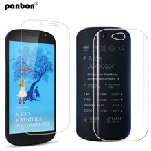 Yotaphone 2의 보호 유리 강화 유리 스크린 보호기 및 back hd clear nano soft film for yota phone 2