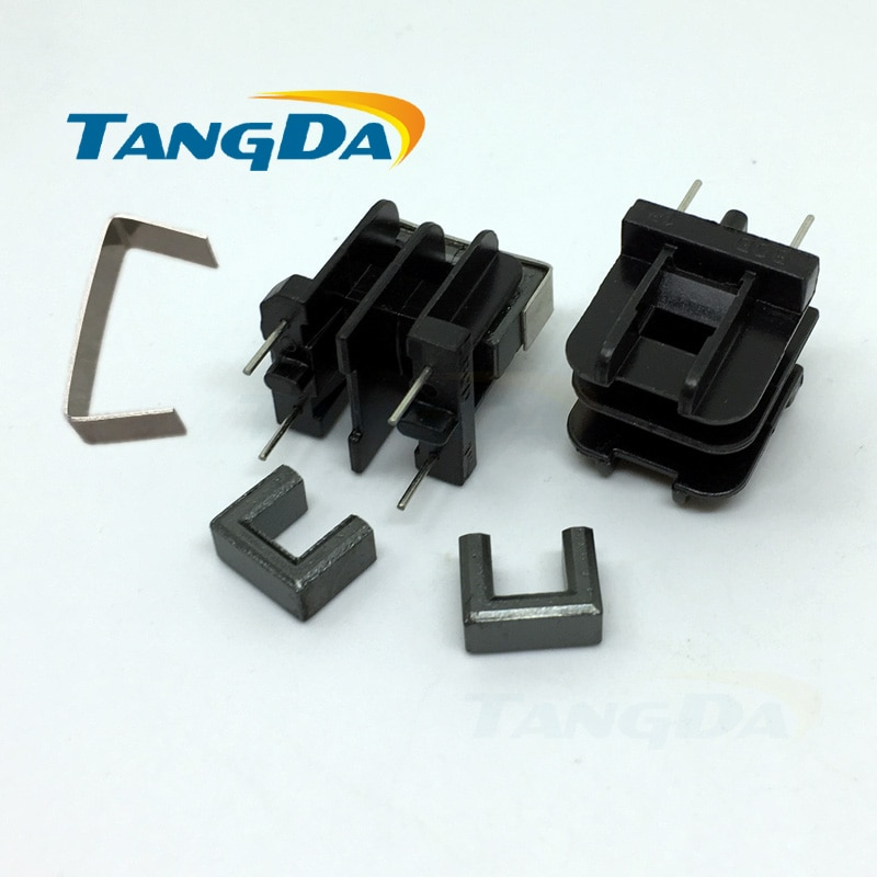 Tangda-قلب مغناطيسي UF10.5 UF ، محول أفقي DIP UU10.5 AG ، هيكل عظمي ، 2 دبابيس