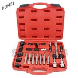 24pcs Alternador Roda Livre Pulley Extrator Remoção Do Motor Auto Tool Set NOVO