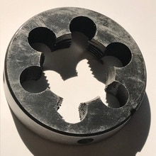 Envío gratis de 1 PC de aleación de acero manual morir M26 * 1,0/1,5/2,0mm para la mano piezas de trabajo de metal suave enhebrado