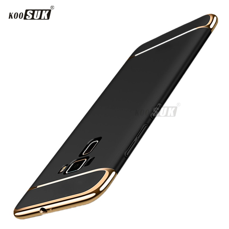 """KOOSUK PC Case For ASUS ZenFone 3 ZE552KL ( Z012DB ) Case 3 in 1 Full Protection Luxury Housse For Asus ZE552KL Cover 5.5"""""""