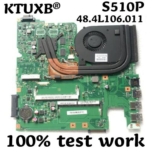 12293-1 48.4L106.011 Motherboard für Lenovo S510P LS41P LS51P notebook motherboard CPU i3 4010U GT720M 2G DDR3 100% test arbeit