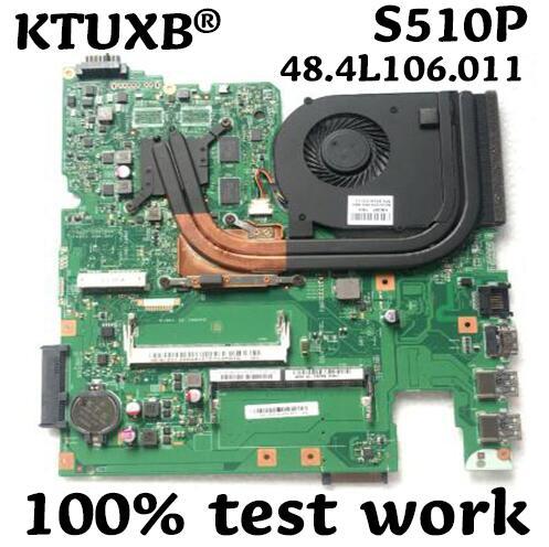 12293-1 48.4L106! 011 placa base para Lenovo S510P LS41P LS51P portátil placa base CPU i3 4010U GT720M 2G DDR3 100% prueba de trabajo