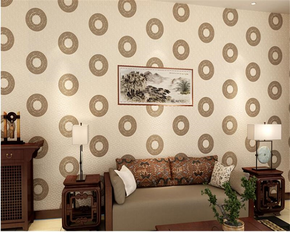 beibehang Chinese style retro papel de parede 3d wallpaper waterproof nonwoven fabric wallpaper living room bedroom background beibehang new papel de parede 3d wallpaper chinese style simple wallpaper relief dream watercolor lotus lotus background tapety