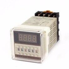 3 V/DC 24V 220V 110V 0.1 V V S-99H   8 broches, minuterie réglable, temporisation
