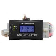 Hot Digital LCD Display PC Computer 20/24 Pin Voeding Tester Checker Power Meten Diagnostic Tester Gereedschap Gratis verzending
