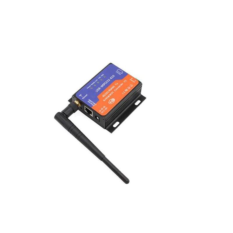 USR-WIFI232-610 seryjny RS232 RS485 do konwertera Wifi urządzenie seryjny serwera pomoc Router most sieci w trybie