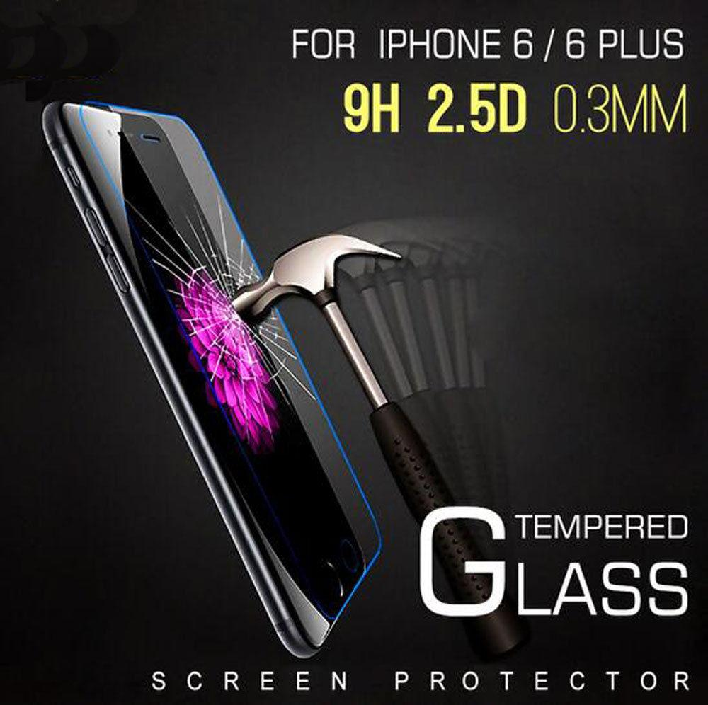 Vidrio Templado Premium 9H HD para iPhone 4 4S 5 5s 5se 6 6 s 7 8 plus X XS max XR para iPod Touch 6, película protectora de pantalla