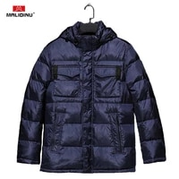 malidinu 2021 brand down jacket men winter down coat parka high quality thick warm winter jackets mens duck down coat for men