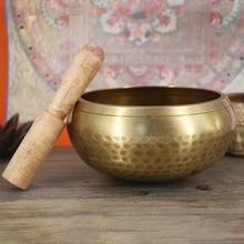 Bols de bouddha fait à la main   Fournitures de chantage bouddhiste tibétain, bol en cuivre pour la méditation