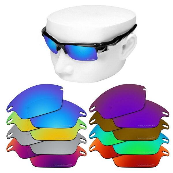 Lentes de repuesto OOWLIT Anti-Scratch para-Oakley Fast Jacket, gafas de sol polarizadas grabadas
