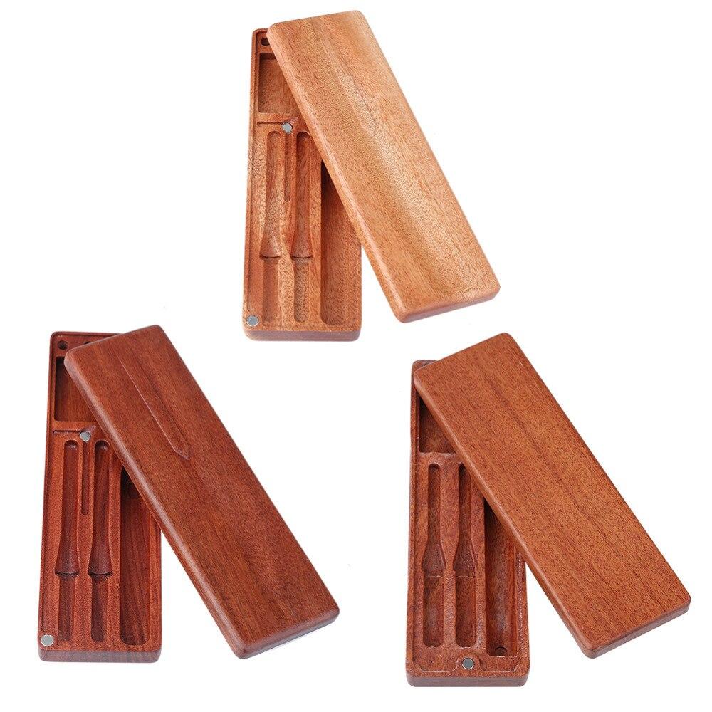 Lc101 lc102 ts80 rosewood mogno ferro de solda caixa de ferramentas madeira caso recipiente