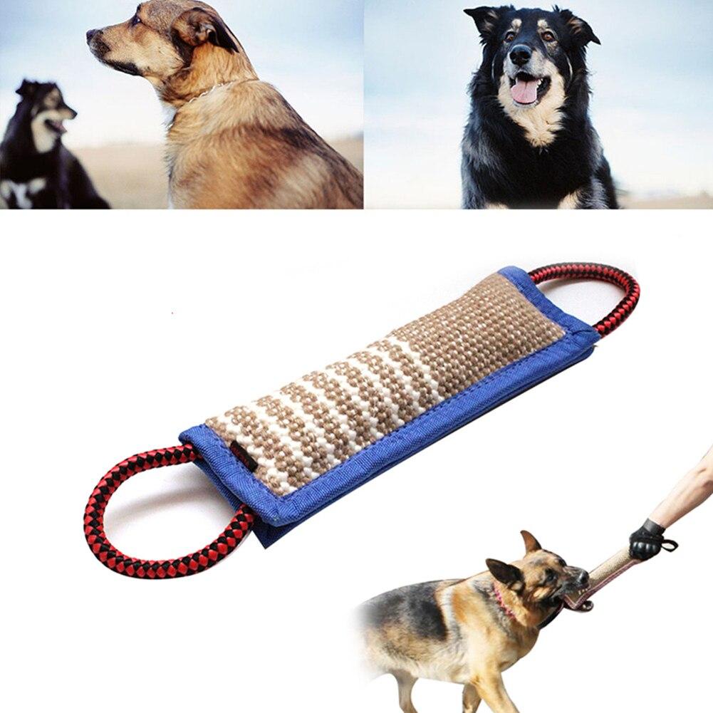 Pies holowników szkolenia ugryzienie psa gryźć zabawkowe zwierzątko szkolenia holownik zabawka poduszki na zewnątrz Puppy zęby zabawki do żucia