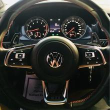 Для Volkswagen VW Golf MK6 GTI Jetta MK5 Passat B6 Touran CC Scirocco R36 Сменное алюминиевое удлиненное весло